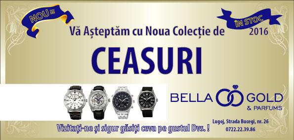 Bella Gold Lugoj Oferta Ceasuri